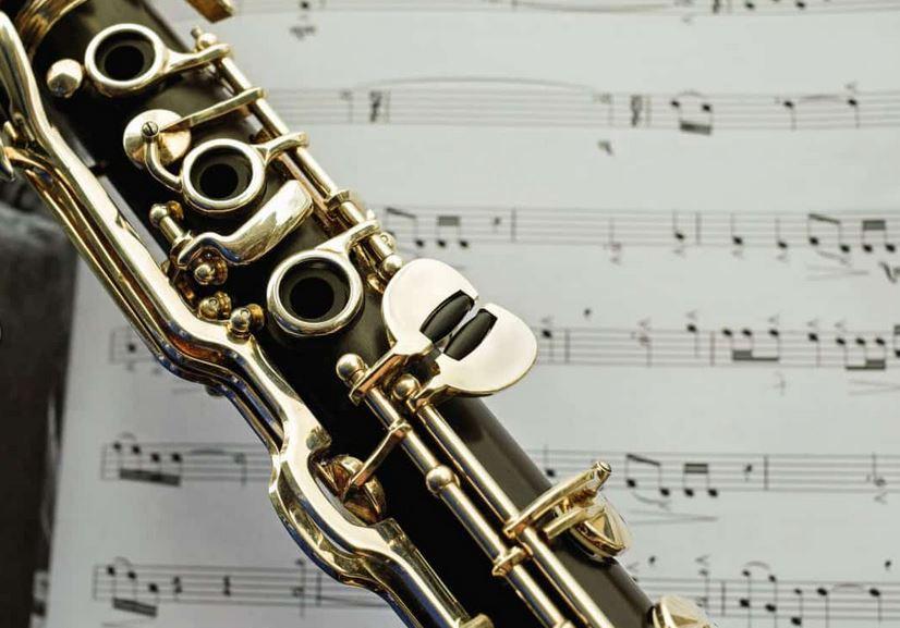 d/écoration Instruments Bougie Th/ème Musique